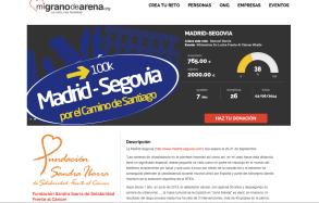 http://www.migranodearena.org/es/reto/3950/madrid-segovia/